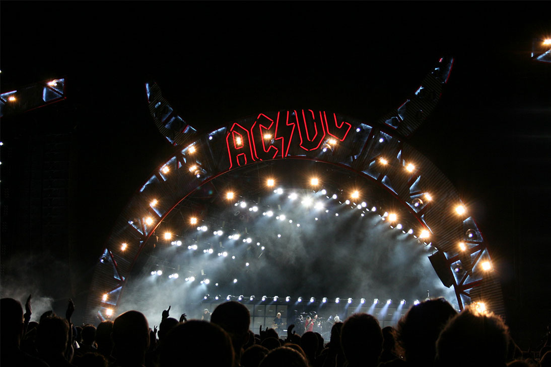 ACDC Stage