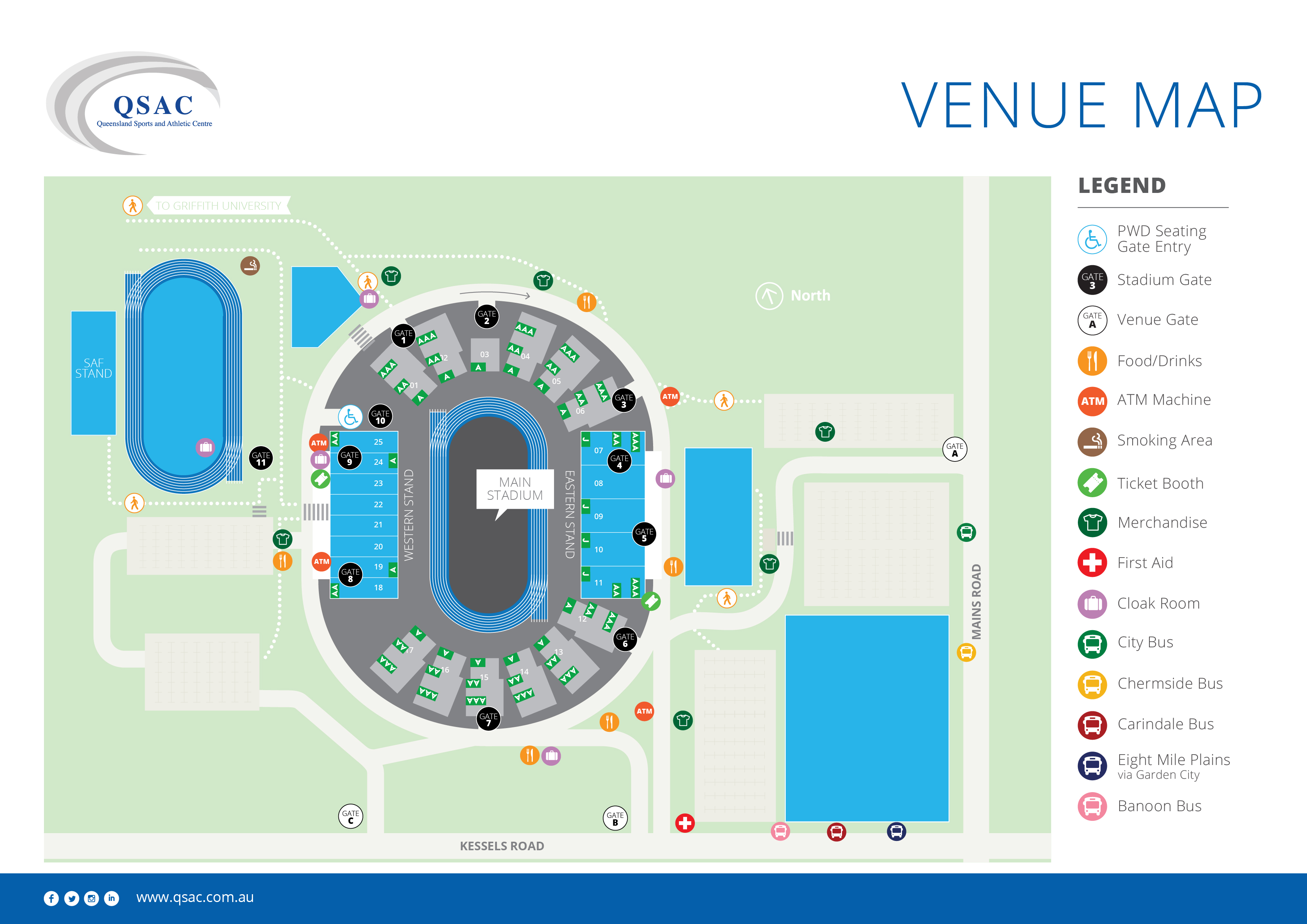 QSAC - Venue Map Emer Seat Map on